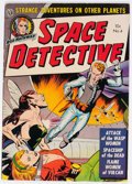 Golden Age (1938-1955):Science Fiction, Space Detective #4 (Avon, 1952) Condition: FN....