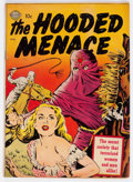 Golden Age (1938-1955):Horror, Hooded Menace #1 (#nn) (Realistic Comics, 1951) Condition: VG-....