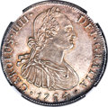 Chile, Chile: Charles IV 8 Reales 1794 So-DA MS61 NGC,...