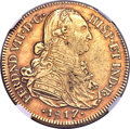 Colombia, Colombia: Ferdinand VII gold 8 Escudos 1817 NR-JF XF40 NGC,...