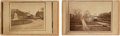 Photography:CDVs, Abraham Lincoln: Two Catafalque Cartes-de-Visite.... (Total: 2 Items)