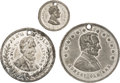Political:Tokens & Medals, Abraham Lincoln: Three 1864 Lincoln Campaign Medals, One Rated R-7.... (Total: 3 Items)