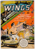 Golden Age (1938-1955):War, Wings Comics #29 (Fiction House, 1943) Condition: FN-....