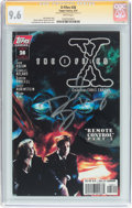 Modern Age (1980-Present):Science Fiction, X-Files #28 Signature Series (IDW Publishing, 1997) CGC NM+ 9.6White pages....