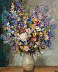 Paintings, Marcel Dyf (French, 1899-1985). Pieds d'alouette, circa 1950. Oil on canvas. 28-3/4 x 23-3/4 inches (73.0 x 60.3 cm). Si...
