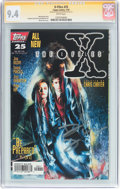 Modern Age (1980-Present):Science Fiction, X-Files #25 Signature Series (IDW Publishing, 1997) CGC NM 9.4White pages....
