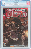 Modern Age (1980-Present):Horror, Walking Dead #1 Wizard World Indianapolis Edition (Image, 2015) CGCNM/MT 9.8 White pages....