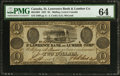 Canadian Currency: , Malbay, LC- St. Lawrence Bank & Lumber Co. $2 May 25, 1837 Ch.# 665-10-04. ...