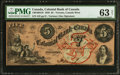 Canadian Currency: , Toronto, CW- Colonial Bank of Canada $5 May 4, 1859 Ch. #130-10-04-10.. ...