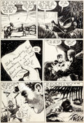 Original Comic Art:Panel Pages, Howard Larsen Jack Armstrong #1 Story Page 7 Original Art (Parents' Magazine Press, 1947)....