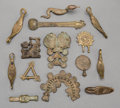 Tribal Art, AKAN, Ghana. UNKNOWN PEOPLES, West Africa. Fourteen Items fromGoldweight Collections... (Total: 14 Items)