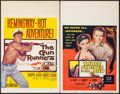 "Movie Posters:Adventure, The Gun Runners & Others Lot (United Artists, 1958). WindowCards (4) (14"" X 22""). Adventure.. ... (Total: 4 Items)"