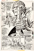 Original Comic Art:Splash Pages, Howard Chaykin and Ernie Chan Conan the Barbarian #79 SplashPage 16 Original Art (Marvel, 1977)....