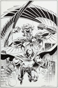 Original Comic Art:Covers, Bill Reinhold The Prowler #3 Cover Original Art (Marvel,1995)....