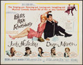 "Movie Posters:Musical, Bells Are Ringing (MGM, 1960). Half Sheet (22"" X 28"") Style B.Musical.. ..."