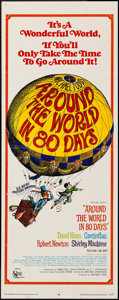 """Movie Posters:Adventure, Around the World in 80 Days (United Artists, R-1968). Insert (14"""" X36"""") & Half Sheet (22"""" X 28""""). Adventure.. ... (Total: 2 Items)"""
