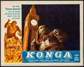 "Movie Posters:Science Fiction, Konga (American International, 1961). Lobby Card (11"" X 14"") &Photos (15) (10"" X 13.25""). Science Fiction.. ... (Total: 16 Items)"