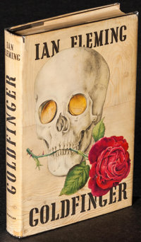 "Goldfinger by Ian Fleming (Macmillian, 1959). U.S. Hardcover Book (318 Pages, 5.25"" X 7.75"") 1st Edition. Jame..."