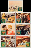 "Movie Posters:Adventure, Storm Over the Nile & Other Lot (Columbia, 1955). Lobby Cards(7) & Lobby Card Set of 8 (11"" X 14""). Adventure.. ... (Total:15 Items)"
