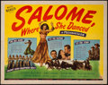"Movie Posters:Adventure, Salome, Where She Danced (Universal, 1945). Half Sheet (22"" X 28"")Style A. Adventure.. ..."