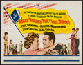 """Movie Posters:Comedy, Rally 'Round the Flag, Boys! & Others Lot (20th Century Fox, 1959). Half Sheet (22"""" X 28"""") & Inserts (2) (14"""" X 36""""). Comedy... (Total: 3 Items)"""