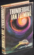 """Movie Posters:James Bond, Thunderball by Ian Fleming (Viking Press, 1961). U.S. Hardcover Book (248 Pages, 5.75"""" X 8.5"""") 1st Edition. James Bond.. ..."""