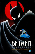 Animation Art:Poster, John Calmette Batman: The Animated Series Signed Poster andSigned Airbrush Action Magazine V9#2 (Warn... (Total: 2Items)