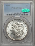 Morgan Dollars, 1888 $1 MS66+ PCGS. CAC....