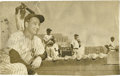 Autographs:Photos, 1939 Lou Gehrig Signed Large Wire Photograph. This was one of our favorite images of the Iron Horse long before we ever enc...