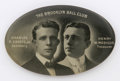 Baseball Collectibles:Others, Circa 1910 Brooklyn Superbas Celluloid Mirror. Stengel, Wheat and Daubert were the big stars of Brooklyn when this rare sou...