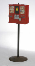Baseball Collectibles:Others, 1950's Baseball Card Vending Machine. If you were a young baseball fan in the 1950's, surely you pestered the heck out of y...
