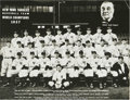 Autographs:Photos, 1937 New York Yankees Team Signed Photograph. The Bronx Bombersearned their nickname well this World Championship season, ...
