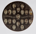 Baseball Collectibles:Others, 1909 Pittsburgh Pirates National League Champions Mirror. Classic1909 Pittsburgh Pirates championship mirror button with 1...