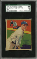 Baseball Cards:Singles (1930-1939), 1934-36 Diamond Stars Red Ruffing #60 SGC NM 84. Only twice has SGCgraded a Red Ruffing card higher than this one. A beau...