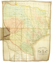 Francis Moore, Jr.: Map and Description of Texas