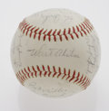 Autographs:Baseballs, 1965 Los Angeles Dodgers Team Signed Baseball. ONL (Giles) ball from the 1965 World Series Champions offers twenty-four exce...