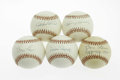 Autographs:Baseballs, Pittsburgh Pirates Single Signed Baseballs Lot of 5. Steeltownfavorites. ONL balls feature sweet spot signatures from Law...(Total: 5 Items)