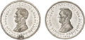 Political:Tokens & Medals, Abraham Lincoln: Two Scarce 1864 & 1865 Lincoln Medals.... (Total: 2 Items)
