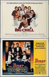 """The Big Chill & Other Lot (Columbia, 1983). Half Sheets (2) (22"""" X 28""""). Comedy. ... (Total: 2 Items)"""