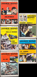 "Movie Posters:James Bond, Goldfinger & Others Lot (Daily Express/News BlitzInternational, 1975). Italian Comic Books (5) (Multiple Pages, 9.5""X 13.5... (Total: 5 Items)"