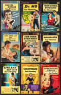 Movie Posters:James Bond, From Russia with Love by Ian Fleming & Others Lot (Pan Books, 1959-1963). British Paperback Books (9) (Multiple Pages, Appro... (Total: 9 Items)