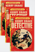 Golden Age (1938-1955):Crime, Kerry Drake Detective Cases #24 File Copies Group of 5 (Harvey, 1951) Condition: Average VF+.... (Total: 5 Comic Books)