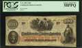 Confederate Notes:1862 Issues, T41 $100 1862 PF-64 Cr. UNL.. ...