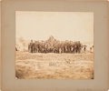 Photography:Official Photos, George Meade & Staff: Large Mounted Albumen Photograph....