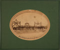 Photography:Official Photos, Union Soldiers in Washington: Large Mounted Albumen....