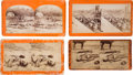 Photography:Stereo Cards, War for the Union Stereo Views: Antietam and Petersburg Casualties. ... (Total: 4 Items)