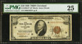 Fr. 1860-D* $10 1929 Federal Reserve Bank Note. PMG Very Fine 25