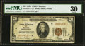 Fr. 1870-A* $20 1929 Federal Reserve Bank Note. PMG Very Fine 30