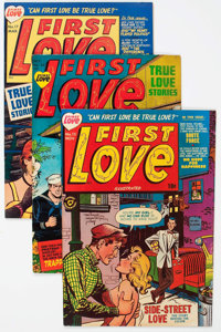 Harvey Golden and Silver Age Romance Comics File Copies Group of 76 (Harvey, 1949-58) Condition: Average FN/VF.... (Tota...