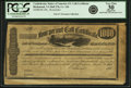 Confederate Notes:Group Lots, Confederate States of America -Richmond, VA 4% Call Certificate$1000 186_ Ball 276, Cr. 136. Remainder. PCGS Apparent Very Fi...